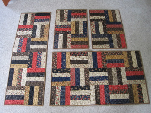Mini-quilts for Rima