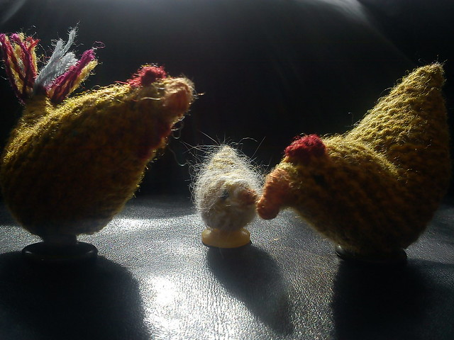 Easter Chickens for FB
