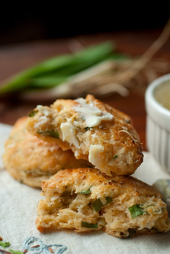 Ramp and Buttermilk Biscuits