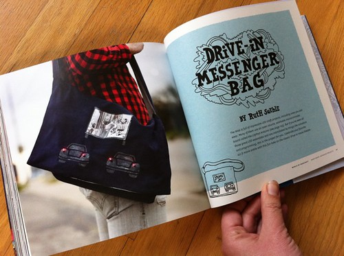 Drive-in Messenger Bag by Ruth Suehle
