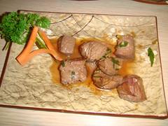 Teppanyaki de solomillo