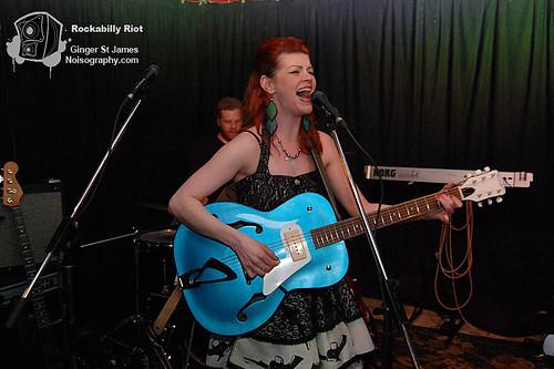 Ginger St James - Rockabilly Riot - April 30th 2011 - 03