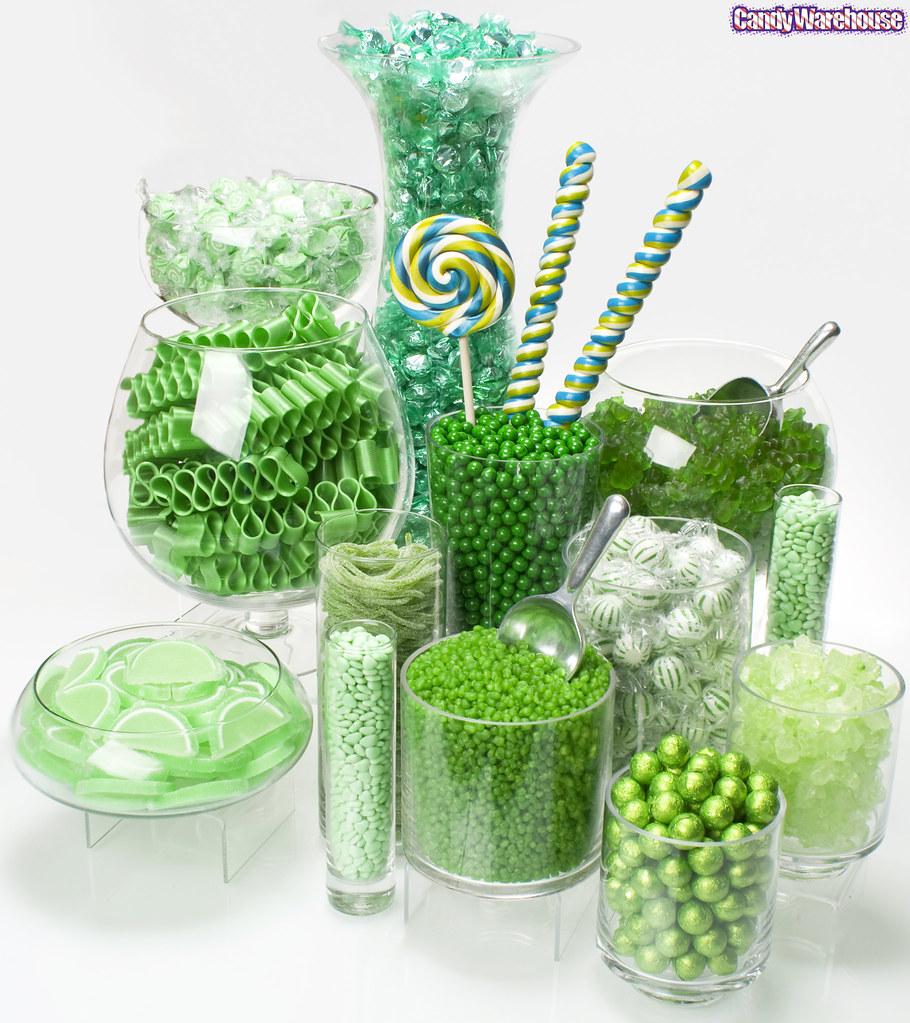 Green Candy Buffet!