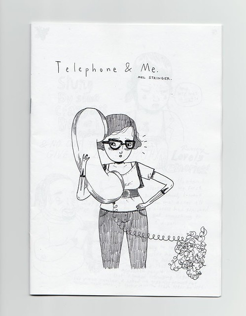telephone and me zine