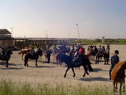 Ragusa, ha preso il via stamattina il nono raduno equestre