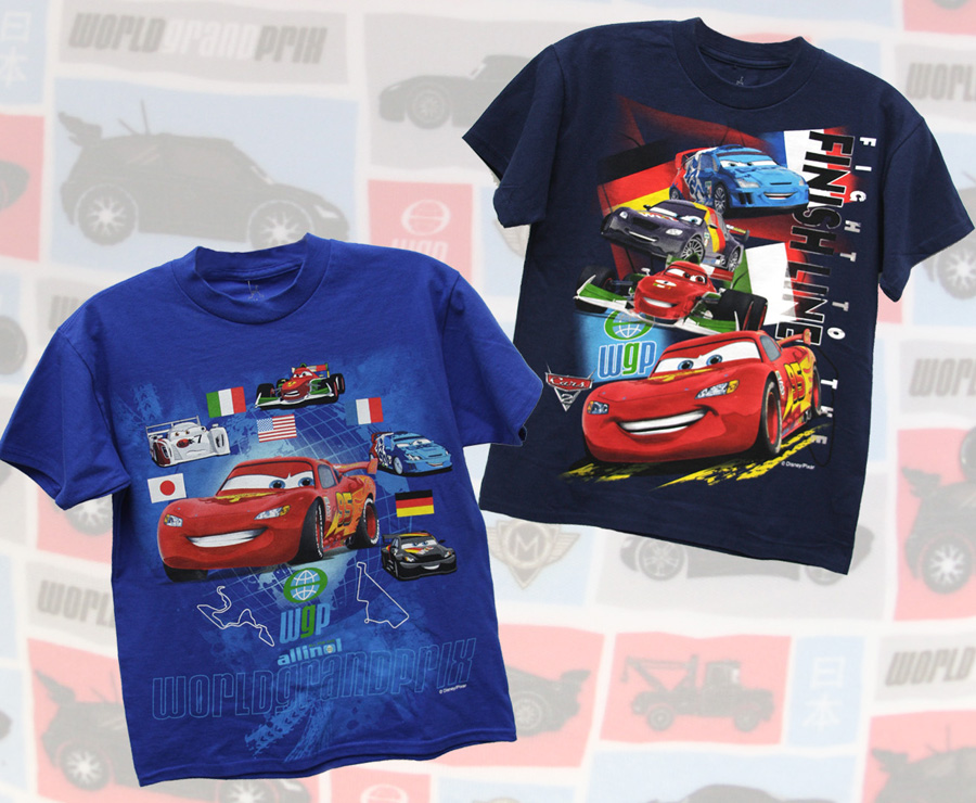 Racing into Disney Parks - 'Cars 2' Merchandise
