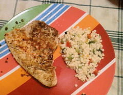 Seared Tuna and Couscous Salad
