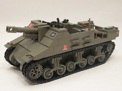 "Canadian Sexton II (""Rumrunner"") Tags: infantry self army gun tank lego brodie wwii helmet canadian 2nd ii ww2 artillery decal custom bren worldwar2 brigade sexton propelled allies armoured brickarms"