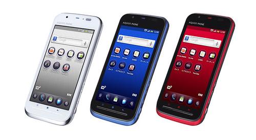 AQUOS PHONE IS12SH