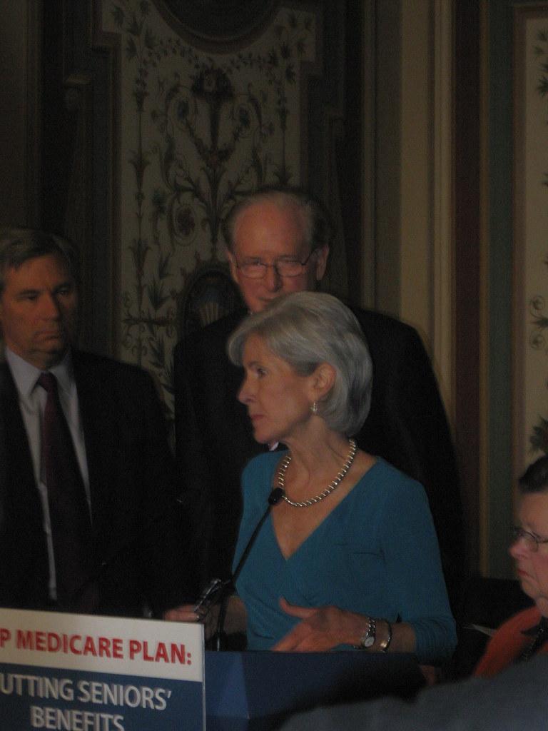 Senate Dems Protest Medicare Cuts