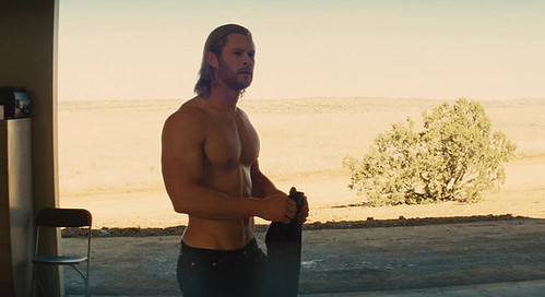 Chris Hemsworth as Thor - Half Naked