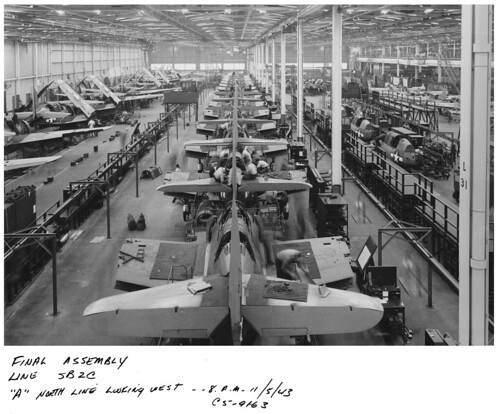 SB2C Helldiver Production - A North Line - 5 November 1943