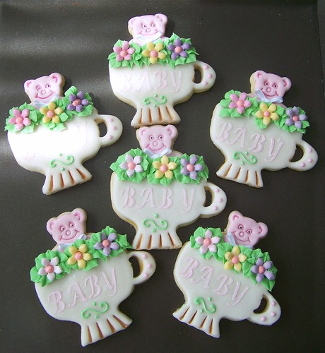 005/  Baby Shower Cookies/Carol & Joan by Debs Cookies