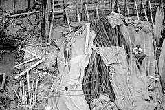 Life... (Kazi Tahsin Agaz (Apurbo)) Tags: life street sleeping people bw white black canon 350d site construction junk loneliness sleep streetphotography worker dhaka bp bangladesh less bnw complicated bangladeshi kazi tahsin apurbo agaz bangladeshiphotographers kazitahsinagazapurbo mogbazar