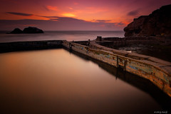 Sutro Baths (Jay Tankersley Photography) Tags: ocean california sunset seascape san francisco pacific baths sutro