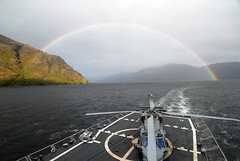 Rainbow forms behind USS Boone (Official U.S. Navy Imagery) Tags: rainbow navy sailor usnavy straitofmagellan guidedmissilefrigate ussbooneffg28 ussoutherncommand southernseas2011