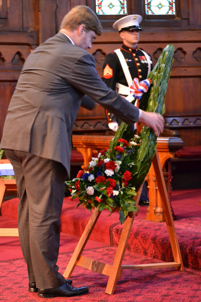 Memorial Day Service at Old St Paul's, Wellington - May 30, 2011.