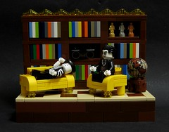 Career Advice No. 3: Psychoanalyst (JETfri) Tags: lego vampire advice mime career psychoanalyst legovignette ffol