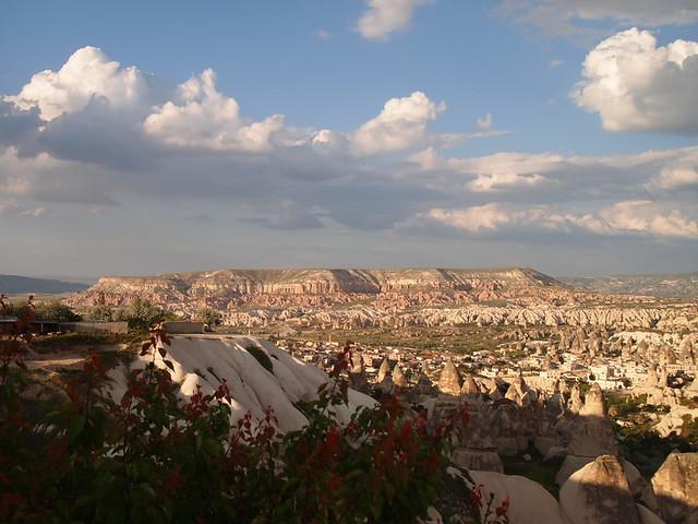 Cappadocia的紅河谷