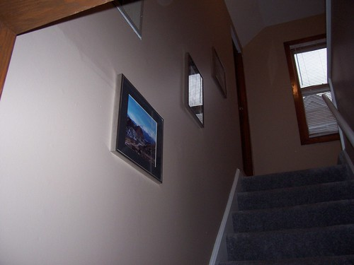 pictures in stairway