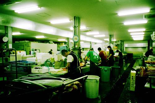 系滿‧漁業市場
