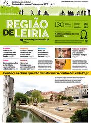 Capa do Região de Leiria da edição 3875 de 24 de Junho 2011