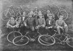 Palace Emporium Bicycle Club. Century riders - Sydney area, NSW, July 1899 (State Library of New South Wales collection) Tags: statelibraryofnewsouthwales