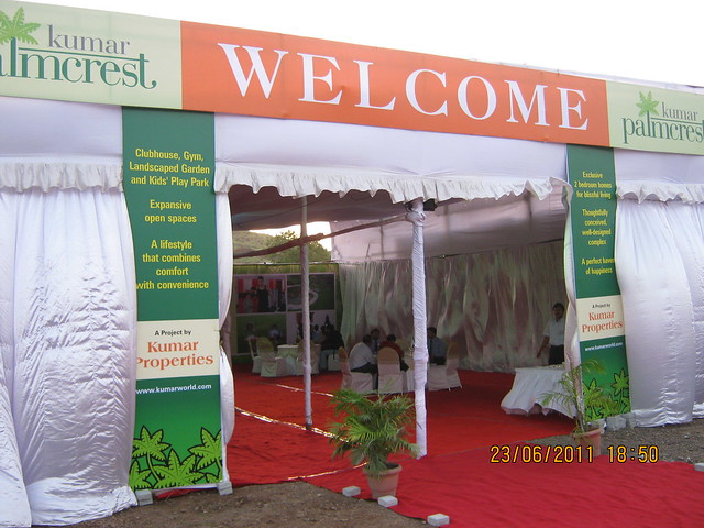 Launch of Kumar Properties' Kumar Palmcrest, 2 BHK Flats, off Katraj Saswad Road, behind Savitiri Palace Mangal Karyalaya, on Khadi Machine Chowk (Kondhwa Road) to Undri Chowk, Pisoli Gram Panchayat, Pune 411 028