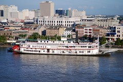 New Orleans: Last Authentic Mississippi River Steamboat  (EXPLORED) (StGrundy) Tags: usa port reflections river nikon louisiana south neworleans landmark explore southern frenchquarter mississippiriver riverboat natchez riverfront nola steamboat steamer riverwalk sternwheeler paddlewheel historicdistrict deepsouth vieuxcarre thebigeasy steamboatnatchez orleansparish nationalregisterofhistoricplaces explored vieuxcarr toulousestreetwharf d80 ssnatchez neworleanssteamboatcompany natchezix louisianariverboat stgrundy vieuxcarredistrict ushistoricdistrict vieuxcarrdistrict