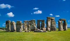 [フリー画像] 建築・建造物, 遺跡, ストーンヘンジ, 世界遺産, イギリス, 201107040100
