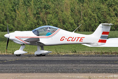 G-CUTE (QSY on-route) Tags: club aero lincon sturgate egcs gcute 04062011