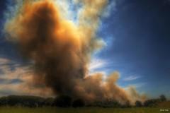 Piromana (s ) Tags: galicia peligro accidente ser fuego ecologa humo llamas calor alerta destruccin santacomba incendioprovocado devastacin quemaderastrojos