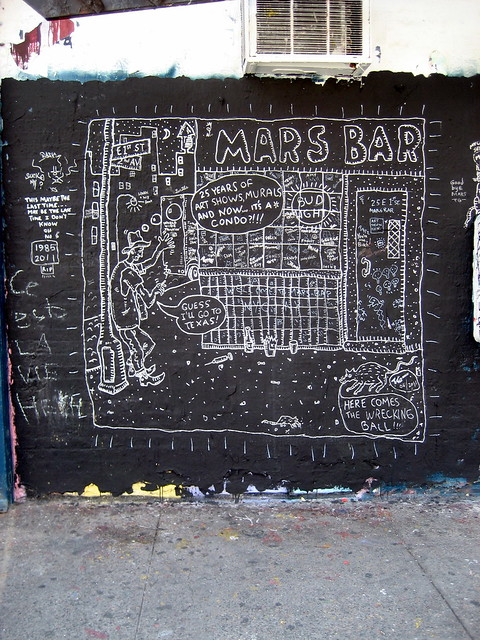 Mars Bar R.I.P. Mural