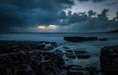 Bay of Skulls (scamart1st) Tags: seascape landscape water sea coast waves rocks sunset panasonic gx7 14140 wales south alien long exposure