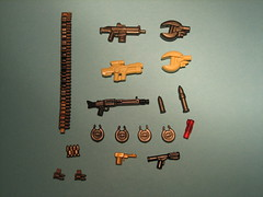BAPs (.zzZZzz.) Tags: black golden gun lego drum tan chain round bullet he zzzzzz ammo prototypes gunmetal m203 protos hac mg42 ppsh brickarms flamegun podgun jfsr