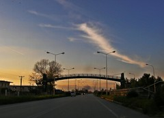 (Eleanna Kounoupa (Melissa)) Tags: road bridge sunset