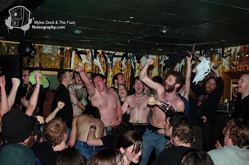 Myles Deck & The Fuzz - Gus' Pub - March 19th 2011 - 30