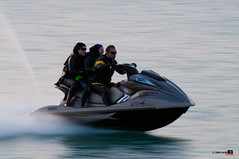 Jet Ski Paining (Shahbaz Hussain's Photography) Tags: city girls sea white 3 ski color reflection guy art love water lens photo nikon focus with image jet royal sigma arab falcon shutter inside kuwait paining q8 hussain 70300 alkoot d5000