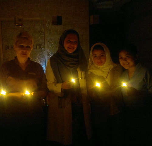 DrLillian & SIC Staff During Earth Hour March 26th 2011 by DrLillian