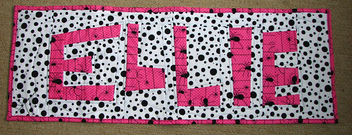 Ellie quilted and bound