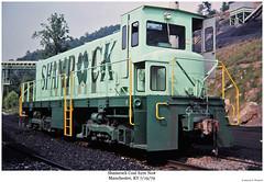 Shamrock S2m No # (Robert W. Thomson) Tags: railroad train manchester diesel kentucky railway trains locomotive trainengine remotecontrol coal shamrock s2 switcher alco switchengine fouraxle endcabswitcher s2m