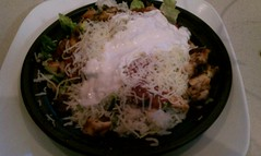 Naked chicken Taco Salad @ qdoba mexican grill (HeadGEAR56) Tags: qdobamexicangrill foodspotting foodspotting:place=150032 nakedchickentacosalad foodspotting:review=456982
