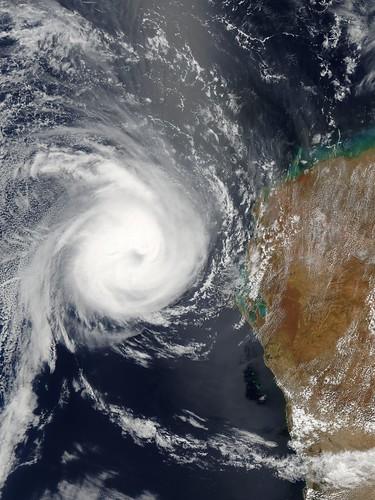 oeil du cyclone