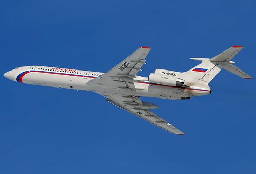 Avião russo 'balança' mas não cai