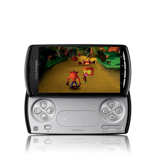 Xperia PLAY with Crash