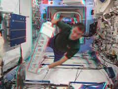 Servicing MELFI-1 in the Destiny laboratory (magisstra) Tags: 3d astronauts destiny iss esa internationalspacestation melfi europeanspaceagency paolonespoli expedition26 expedition27