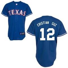 Texas Rangers #12 Cristian Guzman Blue Jersey (Terasa2008) Tags: jersey texasrangers  cheapjerseyswholesale cheapmlbjerseys mlbjerseysfromchina mlbjerseysforsale cheaptexasrangersjerseys