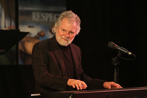 Legendary Rolling Stones keyboardist Chuck Leavell performs at the March 30 International Year of Forests 2011 event in Washington, D.C.  where USDA Secretary Tom Vilsack announced USDA's three-step strategy to promote wood as a green building material.  (US Forest Service photo)