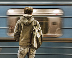 Trains come and go (eugkyr) Tags: street people go trains come colorphotoaward absolutegoldenmasterpiece committeeofartists eugkyr