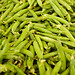 Freshed Picked Green Beans at Farmers Market
